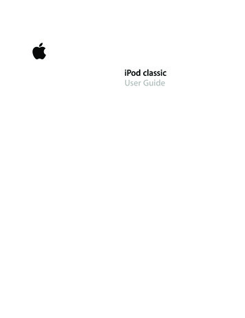 iPod Classic User Guide - B&H Photo