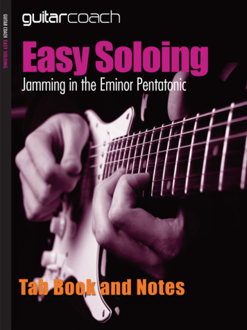 Easy Soloing Guide Layout 1 - Guitar Coach Mag