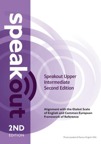 Speakout Upper Intermediate Second Edition