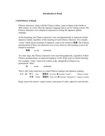 Introduction to Kanji