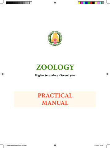 Tamilnadu Board Class 12 Zoology Practical