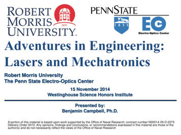 Adventures in Engineering: Lasers and Mechatronics