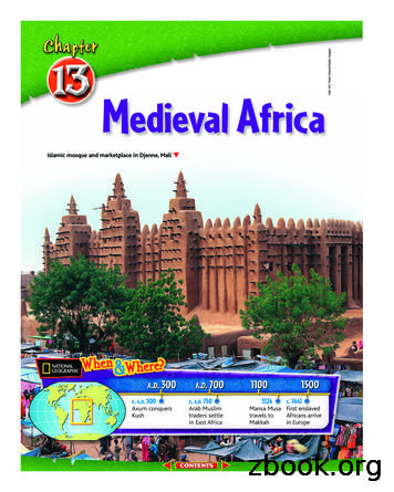 Chapter 13: Medieval Africa