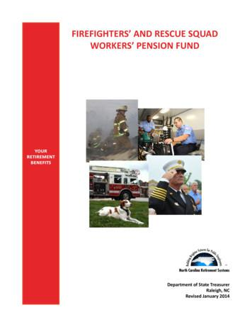 FIREFIGHTERS' AND RESCUE SQUAD WORKERS' PENSION FUND
