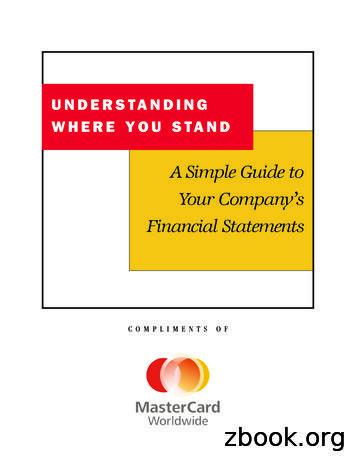 A Simple Guide to Your Company's Financial Statements