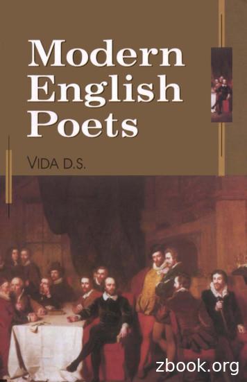 Modern English Poets - The Eye
