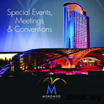 Special Events, Meetings & Conventions