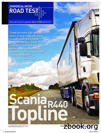How will Scania's popular Euro-5 EGR perform?