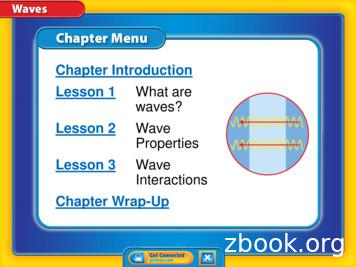 Lesson 2 Wave Properties