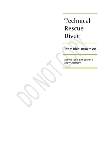 Technical Rescue Diver - Dahab Divers Technical