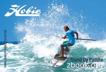 HOBIE STAND UP PADDLE COLLECTION