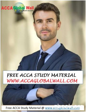 Free ACCA Study Material accaglobalwall