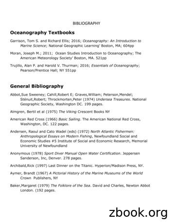 Oceanography Textbooks
