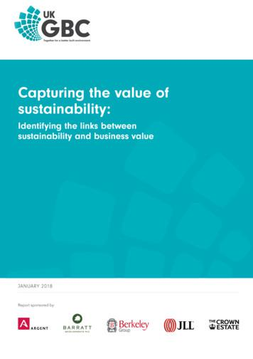 Capturing the value of sustainability - UK Green Building .