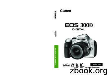 INSTRUCTION MANUAL ENGLISH - Canon Europe