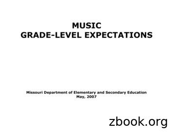 MUSIC GRADE-LEVEL EXPECTATIONS