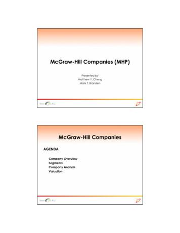 McGraw-Hill Companies (MHP)