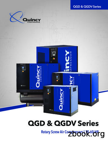 QGD & QGDV Series - ELGi's Air Compressor Repair & Dealer
