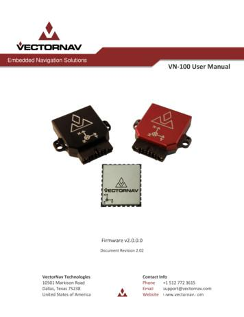 Embedded Navigation Solutions VN-100 User Manual