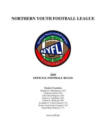 Northern Youth Football League - SportsEngine