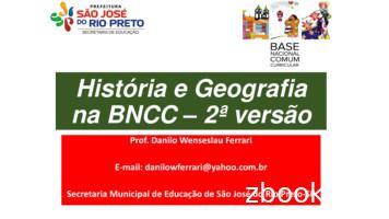 História e Geografia na BNCC 2ª versão - UNDIME-SP