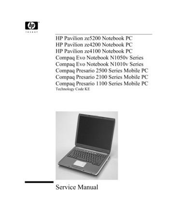 HP Pavilion ze5200 Notebook PC