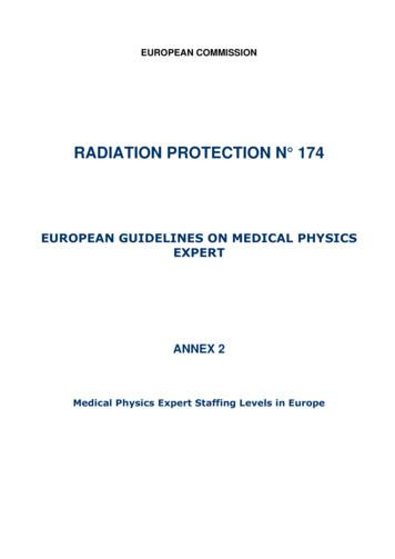 RADIATION PROTECTION N 174 - European Commission