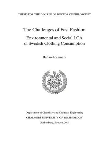 The Challenges of Fast Fashion