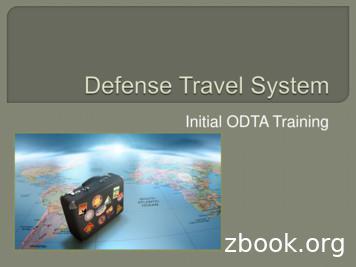 Initial ODTA Training