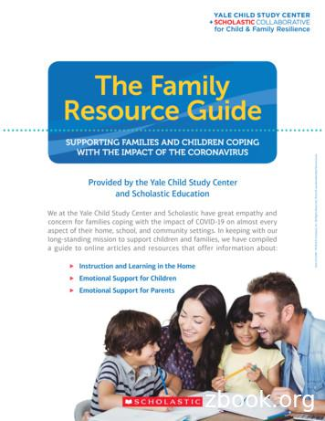The Family Resource Guide - Scholastic Books for Kids