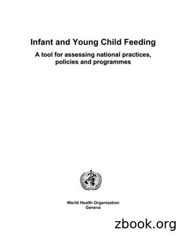 Infant and Young Child Feeding - WHO