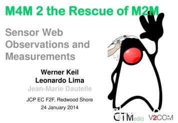 M4M 2 the Rescue of M2M - Java Community Process