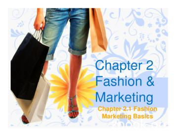 Chapter 2 Fashion and Marketing