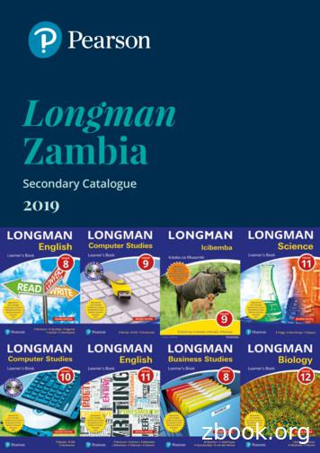 Longman Zambia - Pearson