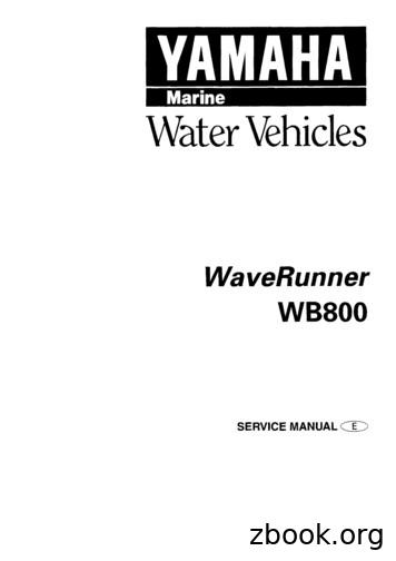 WaveRunner WB800 - motooff.ru