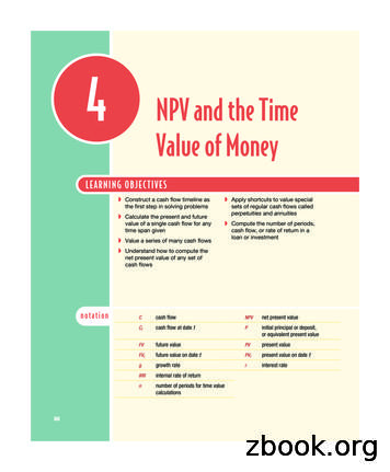 NPV and the Time Value of Money - Pearson