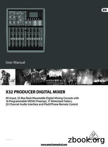 X32 PRODUCER DIGITAL MIXER - American Musical Supply