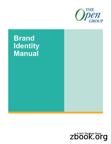 Brand Identity Manual - The Open Group