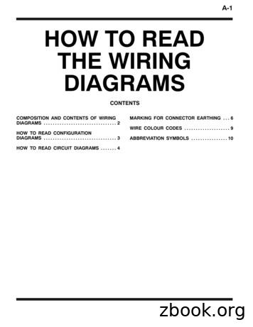 A-1 HOW TO READ THE WIRING DIAGRAMS