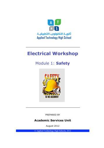 Electrical Workshop - Quia
