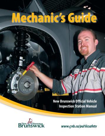 Mechanic's Guide