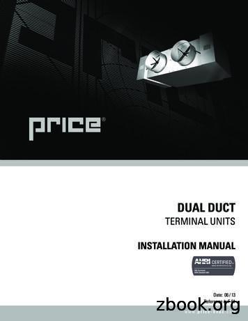 TERMINAL UNITS - Price Industries