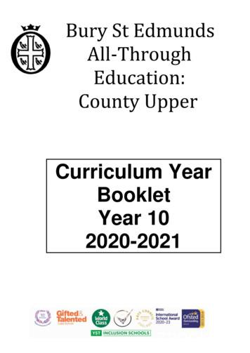 Bury St Edmunds All-Through Education: County Upper