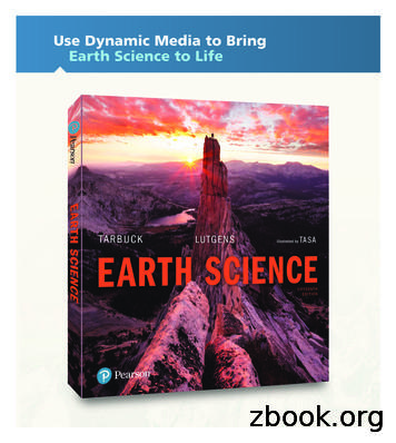 Use Dynamic Media to Bring Earth Science to Life - Pearson