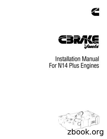 Installation Manual For N14 Plus Engines