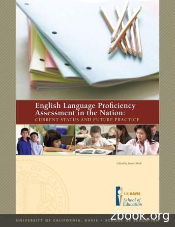 English Language Proficiency Assessment in the Nation
