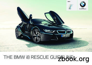 THE BMW i8 RESCUE GUIDELINE.