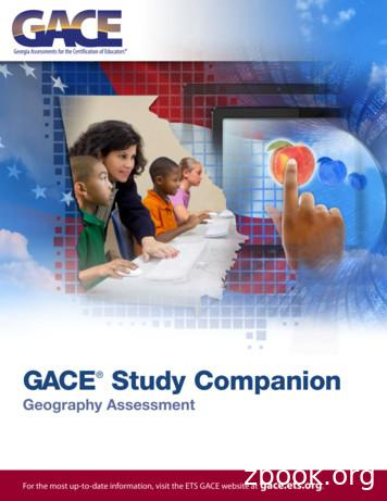 GACE Geography Assessment Study Companion