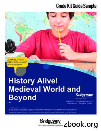History Alive! Medieval World and Beyond