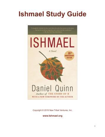 Ishmael Study Guide